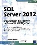 SQL Server 2012 - Impl�mentation d'un...