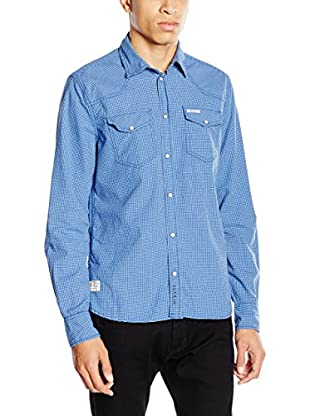 Pepe Jeans London Camisa Hombre Adrian (Azul)