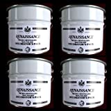 Renaissance Wax Polish Micro-crystalline 3 Liter Can Decorator's Pack Case of 4