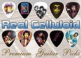 Jimi Hendrix Premium Guitar Picks X 10 (C)