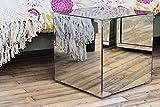 MY-Furniture verspiegelter Aufbewahrungs -Glas-Kubus / Nachttisch / Kaffeetisch