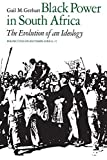 img - for Black Power in South Africa: The Evolution of an Ideology (Perspectives on Southern Africa) by Gail M. Gerhart (1979-10-26) book / textbook / text book