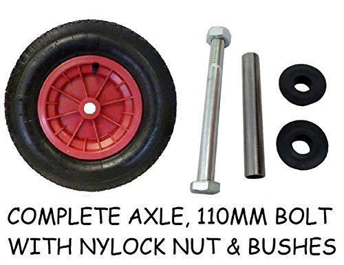 pneumatic-wheelbarrow-wheel-14-inflatable-tyre-350-400-8-axle-hub-martin-wheel-size-350mm-bore-is-25