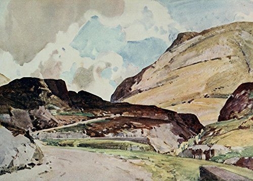 harry-watson-british-water-colour-painting-1920-pass-of-glencoe-artistica-di-stampa-4572-x-6096-cm