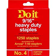Do it Best Global Sourcing346691Do it No. 4 Staples-9/16