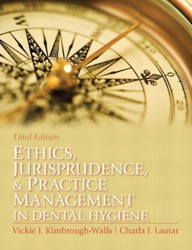 Ethics, Jurisprudence and Practice Management in Dental...
