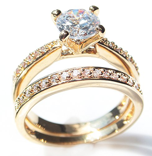 free engraving ah jewellery ladies 18kt genuine gold ForJh Jewelry Guarantee 2 Years