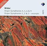 Widor : Organ Symphonies Nos 4 - 6 & 9, Organ Symphonies 1 - 3 [Excerpts] - Apex Marie-Claire Alain