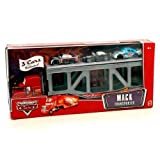 Disney / Pixar CARS Movie 1:55 Die Cast Figure 3-Pack Mack Transporter with Bumper Save, Bob Cutlass and Nitroade