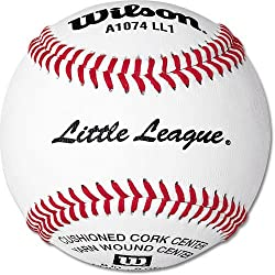 One Dozen Wilson A1074BLL1 Little League&reg; Baseball - Baseball