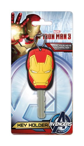 Marvel Iron Man 3 Soft Touch PVC Key Holder - 1