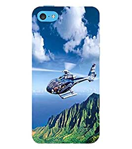 Vizagbeats Helicopter Back Case Cover for Apple iPhone 5C