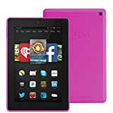 """Fire HD 7, 7"""" HD Display, Wi-Fi, 8 GB - Includes Special Offers, Magenta"""