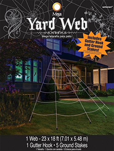 Mega Yard Spider Web Halloween Decor 23' X 18'Best