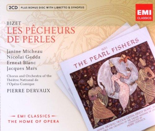 El Pescador De Perlas (P. Dervaux) - Bizet - CD