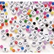 Alphabet White Bead Kit, 300pc Pkg (Pack of 1)