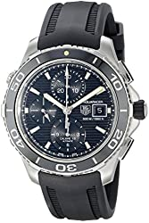 TAG Heuer Men's CAK2111.FT8011 Aquaracer Analog Display Swiss Automatic Black Watch
