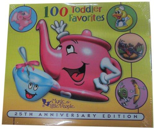 100 Toddler Favorites 3 Cd Set front-208305