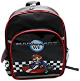 Nintendo 42 x 10 x 35cm Mario Back Pack: Mario Kart Wii Backpack with Pocket (Large)