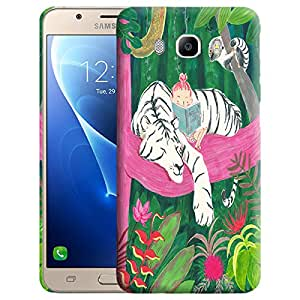 Theskinmantra Baby read Back cover for Samsung Galaxy J7 (2016 Edition)