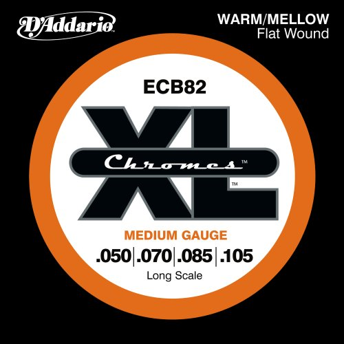 D'Addario ECB82 Chromes Bass Guitar Strings,