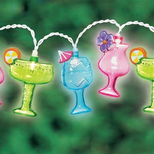Margarita String Lights Outdoor : Amscan Margarita Glass Patio String Lights, 8-Feet New eBay