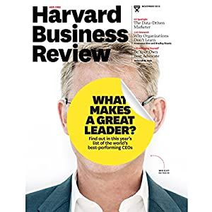 Harvard Business Review, November 2015 Periodical