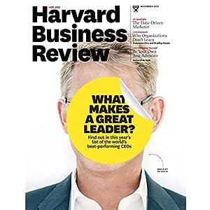 Harvard Business Review, November 2015 (English) Audiomagazin von Harvard Business Review Gesprochen von: Todd Mundt