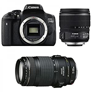 CANON EOS 750D + 15 85 IS + 70 300 IS USM: High tech