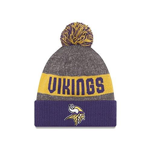 New Era NFL MINNESOTA VIKINGS Authentic On Field Sideline 2016 Bobble Knit