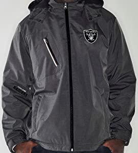 Oakland Raiders NFL G-III Elite 8 Full Zip Hooded Premium Performance Jacket by G-III Sports