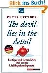 The devil lies in the detail: Lustige...