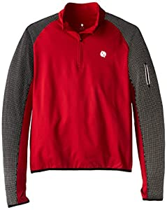 IllumiNite Men's Early Riser Pullover Jacket, X-Large, Red/Black