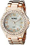 XOXO Women's XO5560 Rose Gold-Tone Bracelet Analog Watch