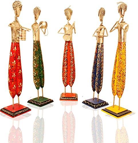 Musicisti Set di 5 pezzo forte | Idoli e figurina | Miniature | Set di 5 figurina| decorazioni per la casa | pezzo forte |