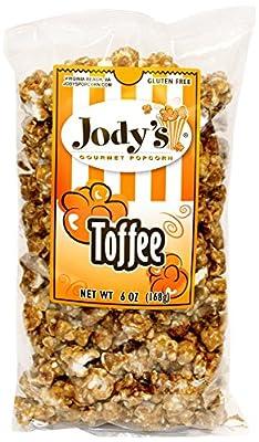Jody's Gourmet Popcorn Toffee, 6.0 Ounce
