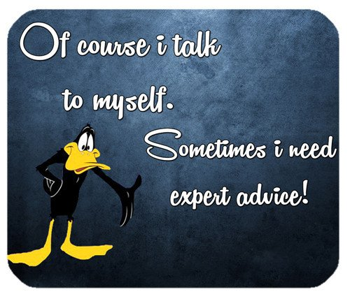 office-mousepads-cute-rectangle-mouse-pad-gffje-daffy-duck-i-talk-to-myself-mouse-pad-laptop-gaming-