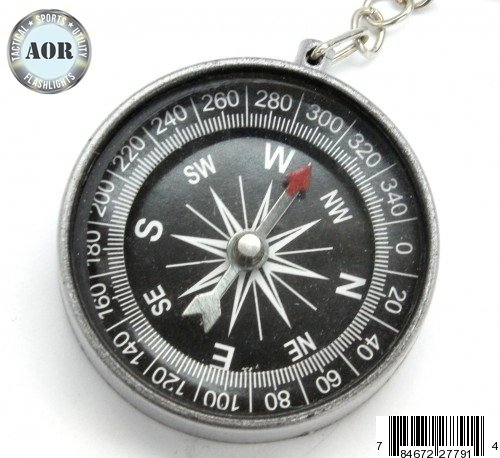 AOR Flashlights Compass Pocket Style Camping Hiking Survival Compass