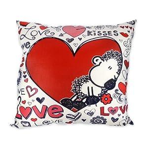 Sheepworld 42264 BW-Kissen Loveall