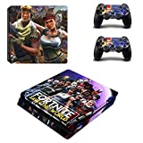 PS4 Vinyl Skin Sticker Cover for Playstation 4 System Console and 2 Controllers - Fortnite Skin (Save the World)