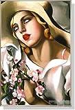 タマラ・ド・レンピッカ Portrait Fille 【ポスター+フレーム】91x61cm ステン