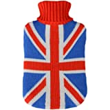 Hot Water Bottle With Union Jack Flag Jumper Cover Newby Windhorse