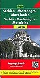 Serbie-Monténégro-Macédoine : 1/500000