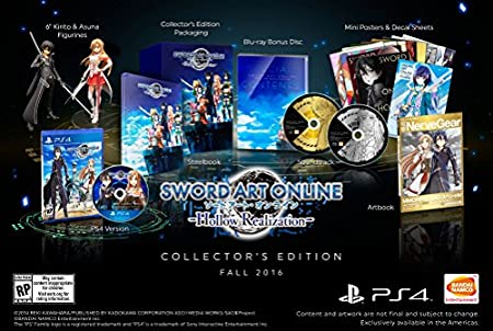 Sword Art Online: Hollow Realization - PlayStation 4 Collector's Edition