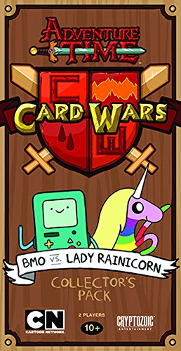 Adventure Time Card Wars Collector's Pack 2: BMO vs. Lady Rainicorn Game