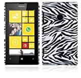 Cadorabo ®! Nokia Lumia 520 Hard Cover Image red rose flower white