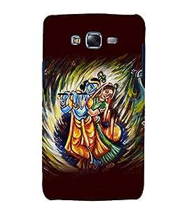 printtech Lord God Radha Krishna Back Case Cover for Samsung Galaxy Grand 3 G720 / Samsung Galaxy Grand Max G720