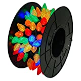 Sienna 150 Faceted Bulb - Multi-Color LED Indoor Outdoor String Lights