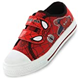 Spiderman Spider Senses Red and Navy Boys Canvas