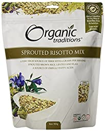 Organic Traditions Sprouted Risotto Mix, 16 Ounce